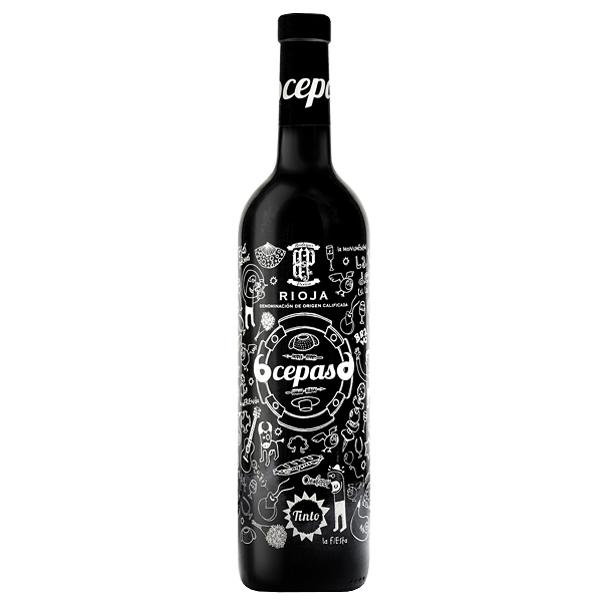Rioja 6 Cepas Rosu 75cl