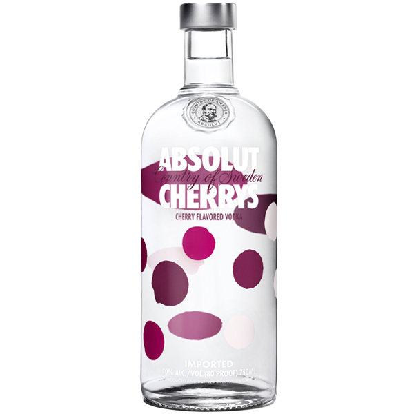 Absolut Cherrys 100cl
