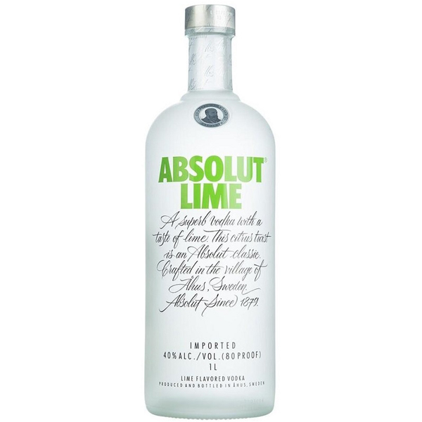Absolut Lime 100cl