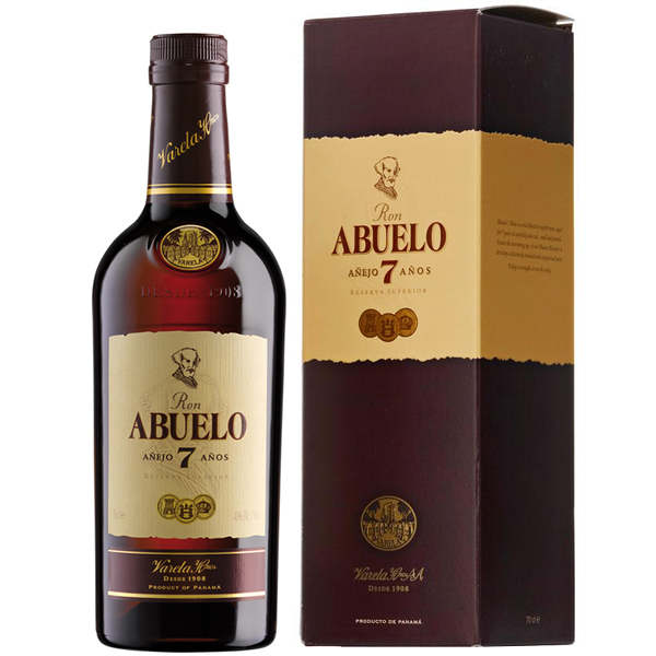 Abuelo 7 ani 70cl