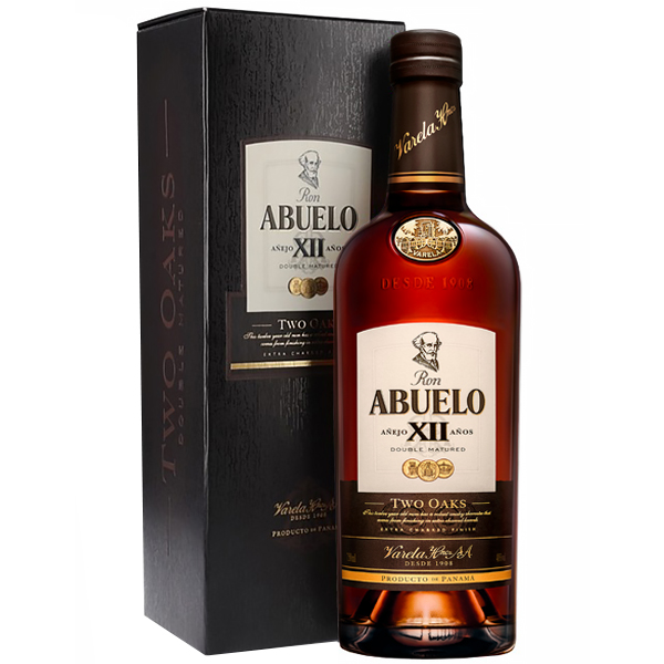 Abuelo Anejo XII Anos Two Oaks 70cl
