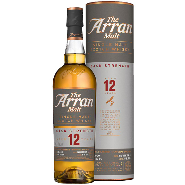 The Arran Cask Strenght 12 ani 70cl