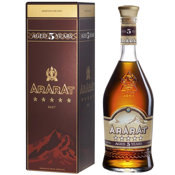 Ararat 5 ani 70cl