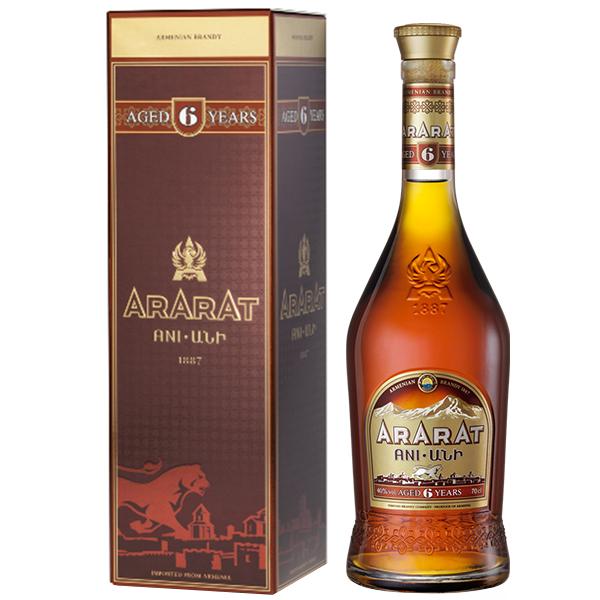 Ararat 6 ani 70cl