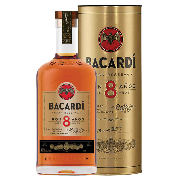Bacardi 8 ani 70cl