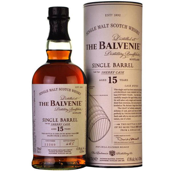 Balvenie Single Barrel 15 ani 70cl