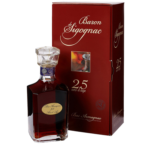 Baron De Sigognac 25 ani 70cl