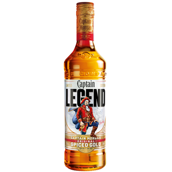 Captain Morgan Legend Editie Limitata 70cl