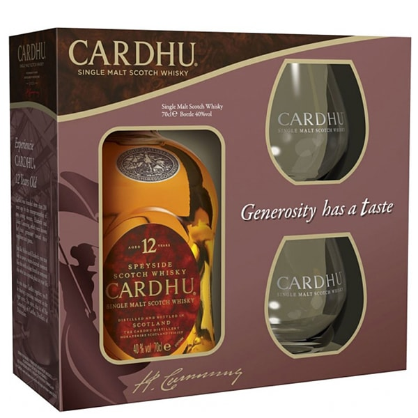 Cardhu 12 ani Gift Box 70cl