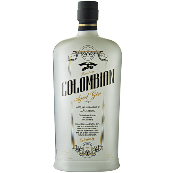 Colombian Dictador Premium White Gin 70cl