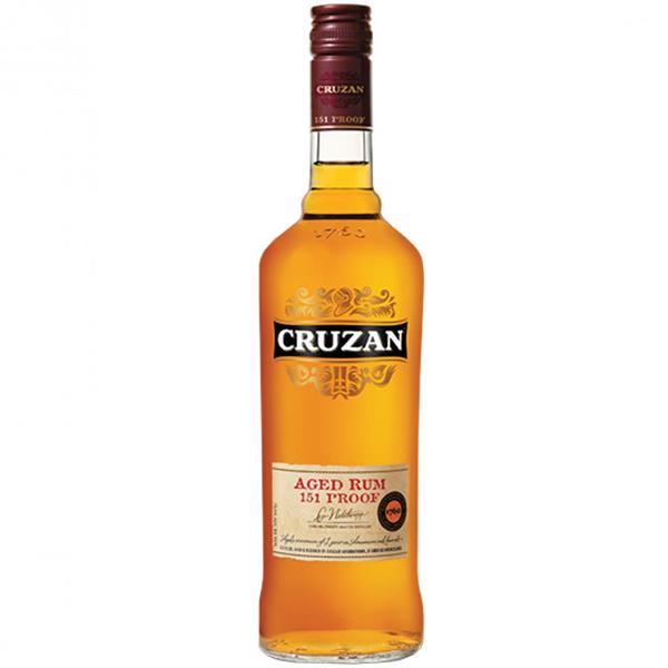 Cruzan 151 Proof Rum 75cl