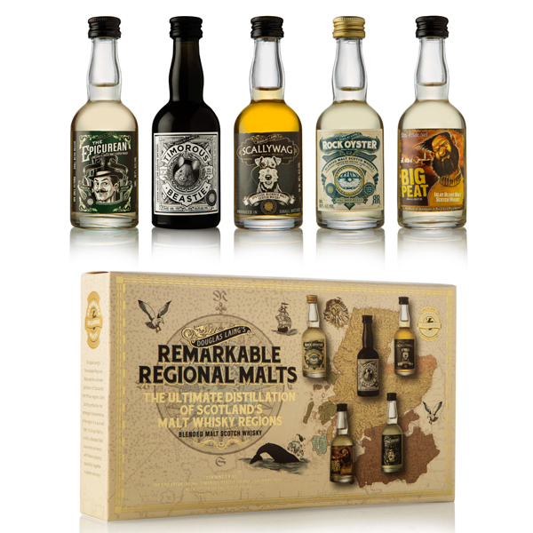 Douglas Laing's Remarkable Regional Malt Mini Pack