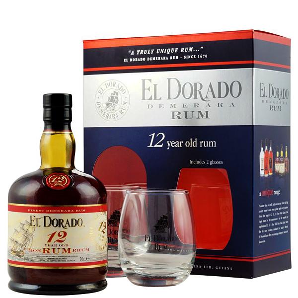 El Dorado 12 ani Gift Box 70cl