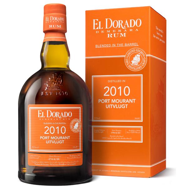 El Dorado Port Mourant 2010 Uitvlugt 70cl