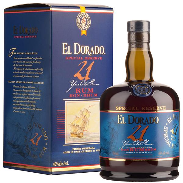 El Dorado 21 ani 70cl