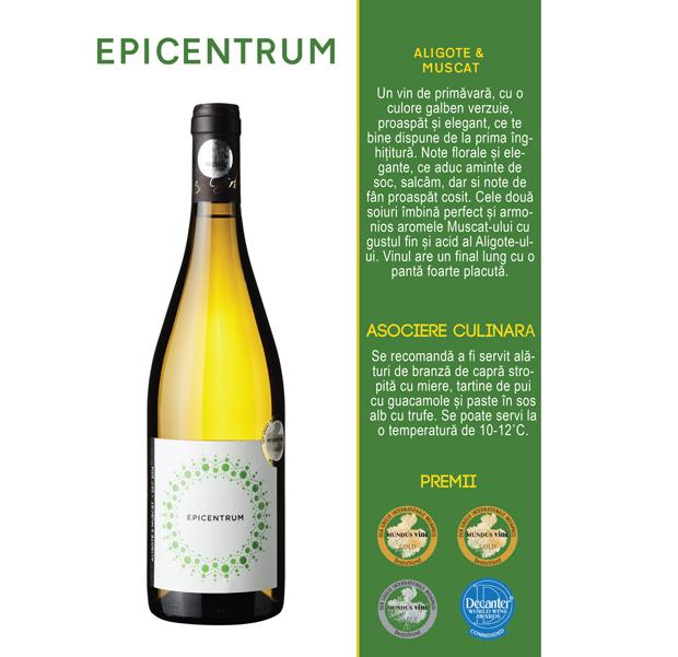 Epicentrum  Aligote & Muscat 75cl