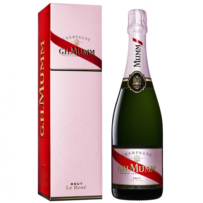 G.H. Mumm Brut Rose Gift Box 75cl