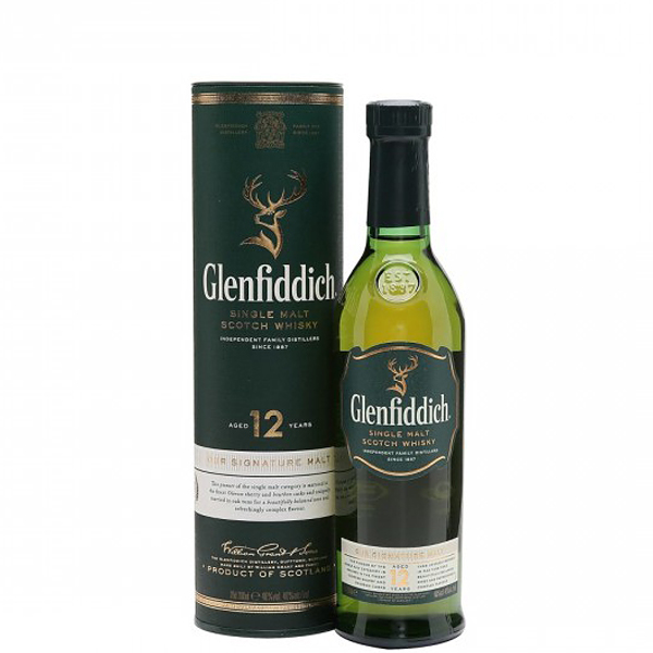 Glenfiddich 12 ani 20cl