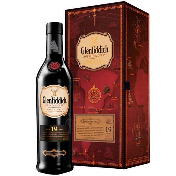 Glenfiddich Age of Discovery Red Wine Cask 19 ani 70cl
