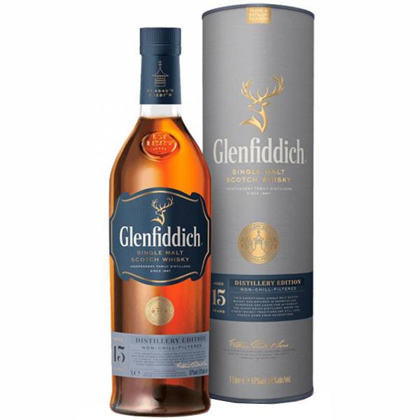 Glenfiddich Distillery Edition 15 ani 100cl