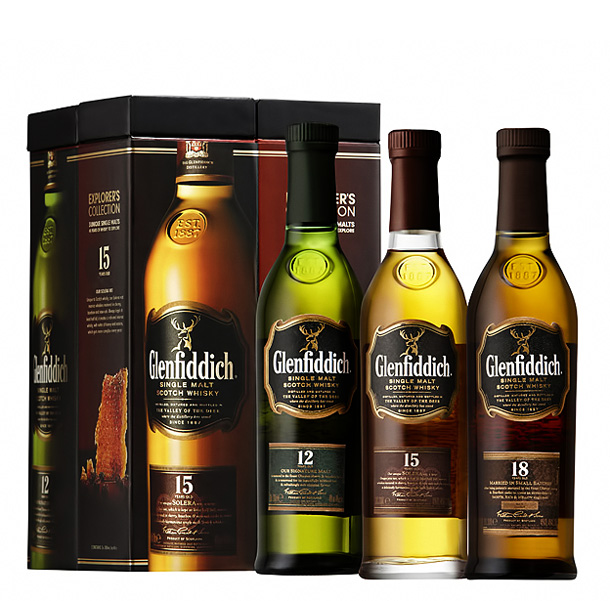 Glenfiddich Explorer's Collection 20cl