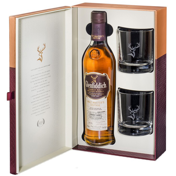Glenfiddich Malt Master Gift Box 70cl