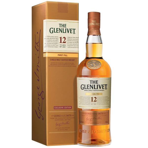 Glenlivet First Fill 12 ani 70cl