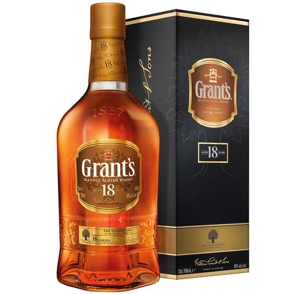Grant's 18 ani 70cl