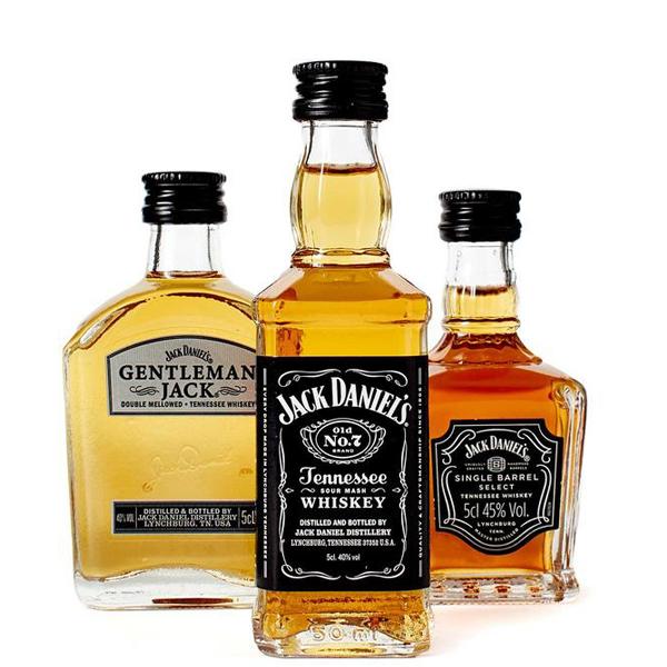 Jack Daniel's Family Of Brands 3 x 5cl