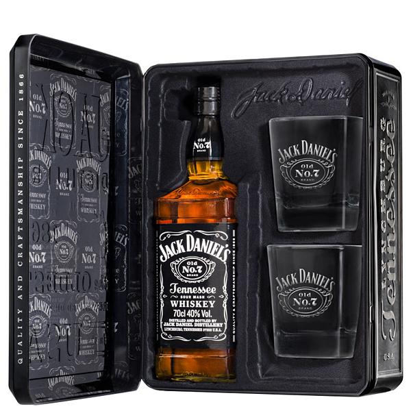 Jack Daniel's Gift Set 70cl