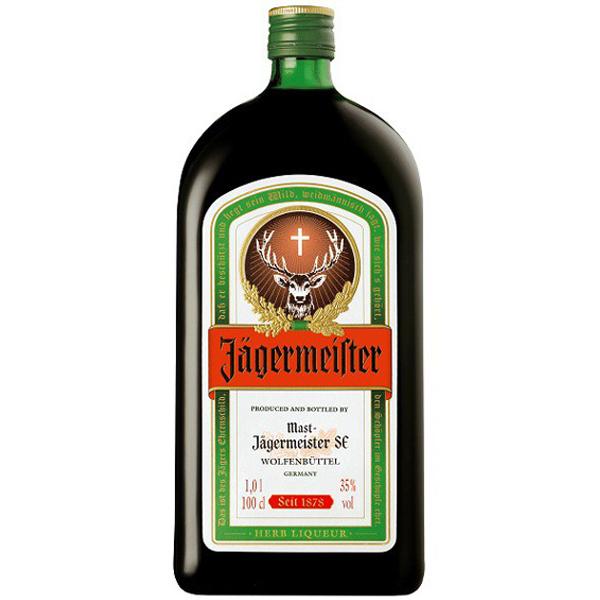 J germeister 1l for Plante whisky