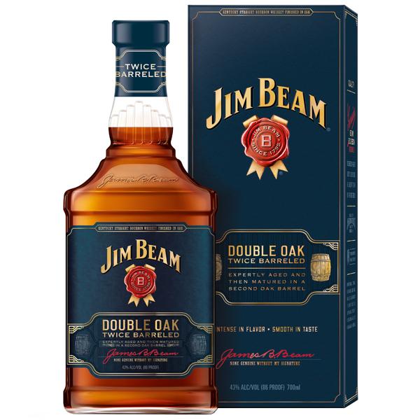 Jim Beam Double Oak 70cl