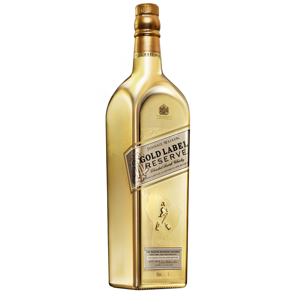 Johnnie Walker Gold Label Reserve Golden Bottle 70cl