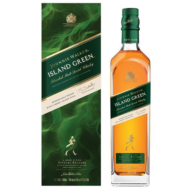 Johnnie Walker Island Green 100cl