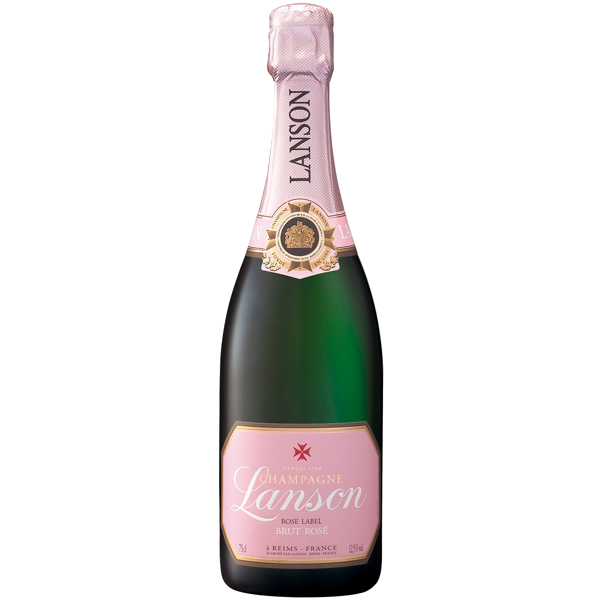 Lanson Rose Label Brut 75cl