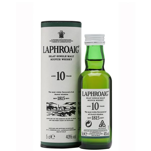 Laphroaig 10 ani 5cl