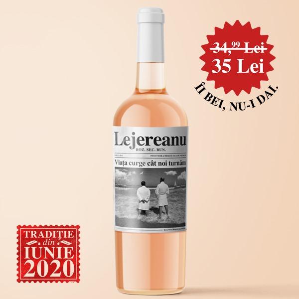 Lejereanu Roz Pinot Noir & Merlot Organic Premium 75cl