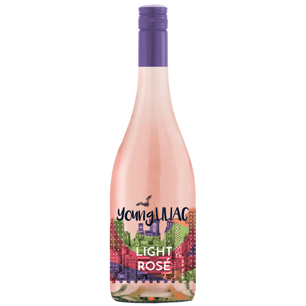 Liliac Young Rose Light 75cl