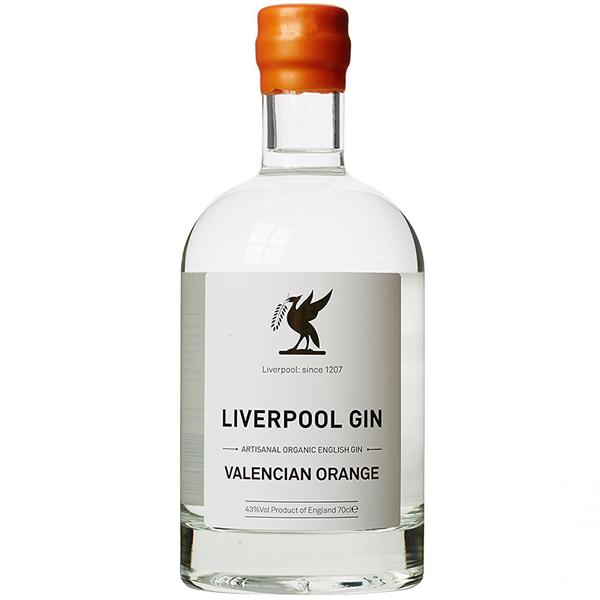 Liverpool Valencian Orange Gin 70cl