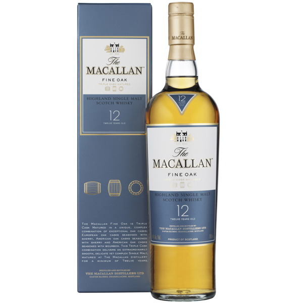 The Macallan 12 ani Fine Oak 70cl