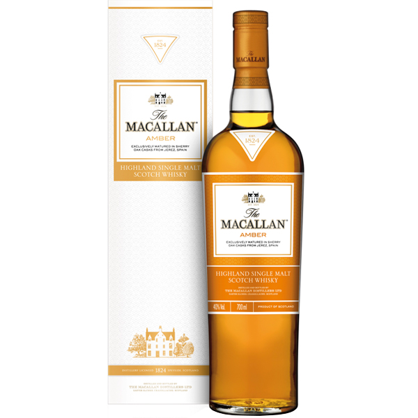 The Macallan Amber The 1824 Series 70cl
