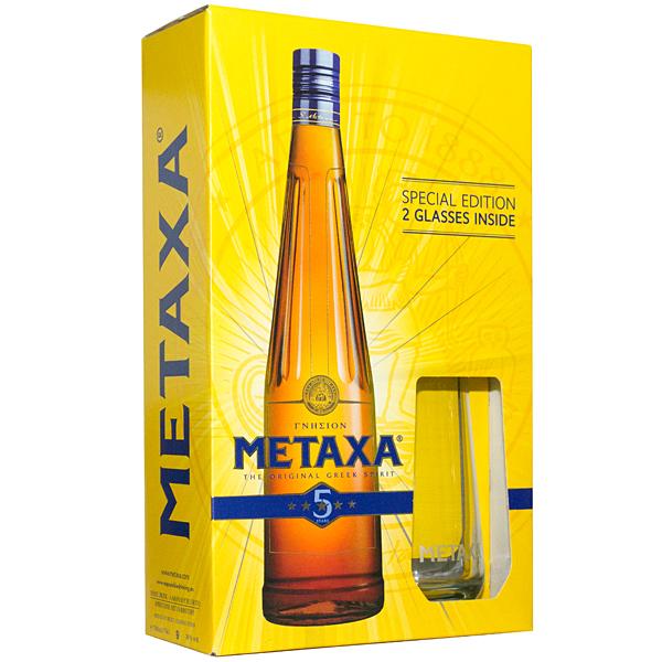 Metaxa 5* Gift Box 70cl