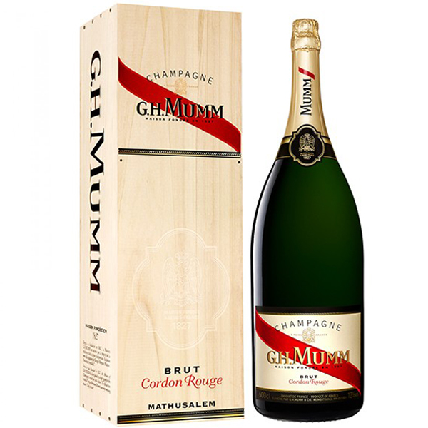 G.H. Mumm Brut Cordon Rouge Mathusalem 600cl