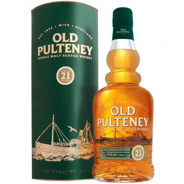 Old Pulteney 21 ani 70cl