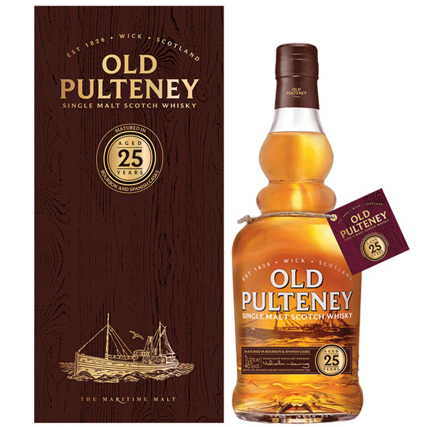 Old Pulteney 25 ani 70cl