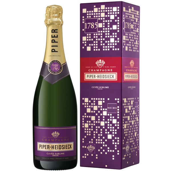 Piper Heidsieck Cuvee Sublime 75cl