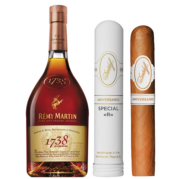 Remy Martin Acord Royal 1738 Cognac Cigar 70cl