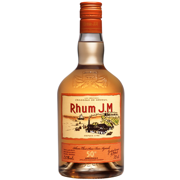Rhum JM Gold 70cl