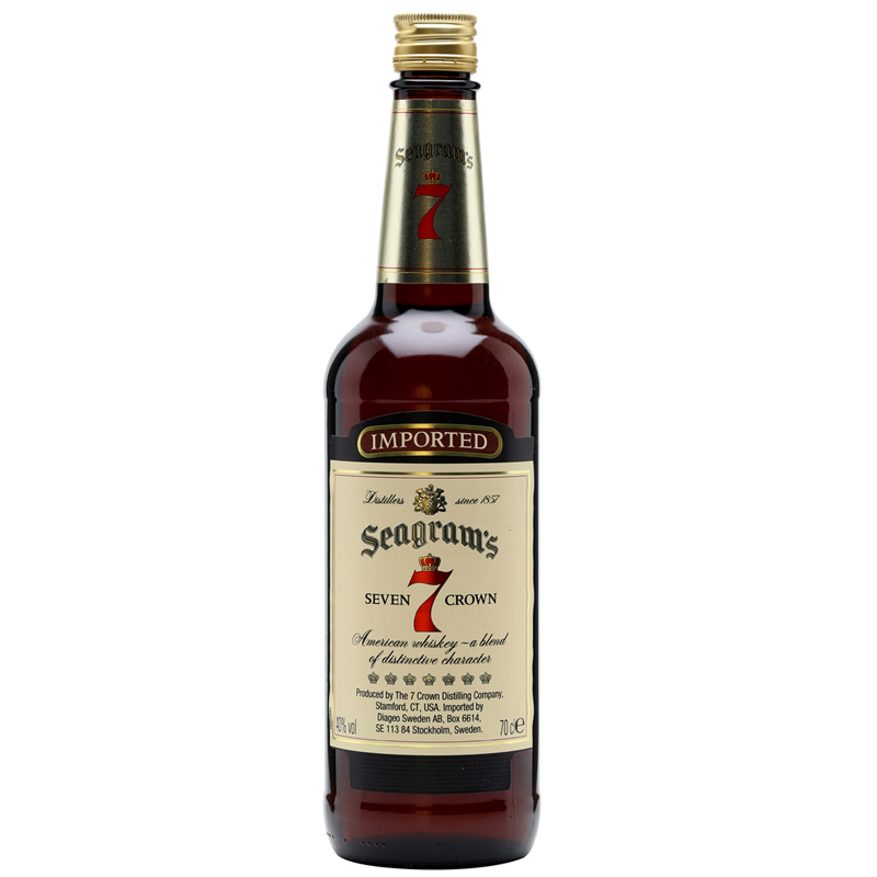 Seagram's 7 Crown 70cl