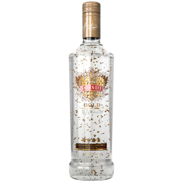 Smirnoff Gold Collection 70cl